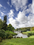 Giardini di Stourhead Immagini Stock