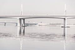 Ponte stradale del Dubai Immagine Stock Libera da Diritti