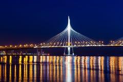 Ponte strallato del diametro ad alta velocità occidentale Immagine Stock Libera da Diritti
