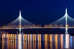 Ponte strallato del diametro ad alta velocità occidentale Fotografia Stock Libera da Diritti