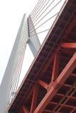 Ponte strallato di Dongshuimen Fotografia Stock