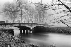 Ponte sul Lambro Arkivfoton