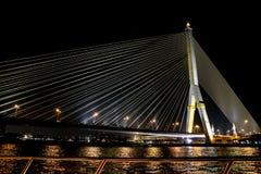 Ponte Tailândia de Rama viii Foto de Stock Royalty Free