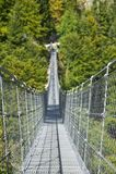 Ponte tibetana do metal da suspensão Imagens de Stock Royalty Free