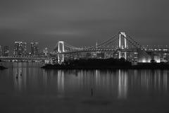 Ponte Tokyo dell'arcobaleno Fotografia Stock Libera da Diritti