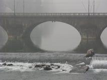 Ponte a Torino immagini stock libere da diritti