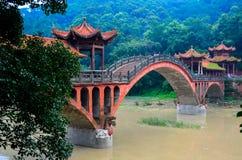 Ponte tradizionale Immagine Stock