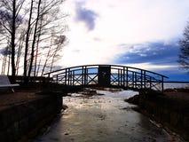 Ponte transversal Imagem de Stock Royalty Free