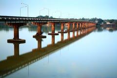Ponte transversalmente fotografia de stock