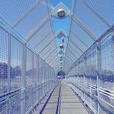 Ponte triangolare Immagini Stock Libere da Diritti