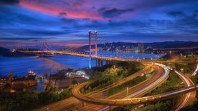 Ponte Tsing-mA Fotografia Stock