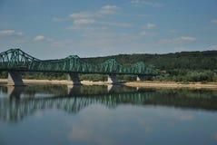Ponte in un wloclawek Fotografie Stock