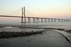 Bridge vasco of gama Stock Photos