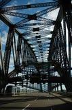 Ponte vazia do porto Imagem de Stock Royalty Free