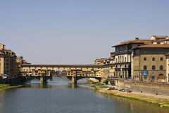 Ponte Vecchia Fotos de Stock Royalty Free