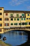 Ponte Vecchio桥梁 免版税图库摄影