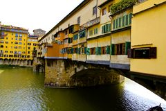 Ponte Vecchio,佛罗伦萨,意大利 免版税库存照片