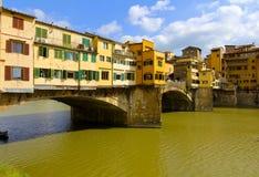 Ponte Vecchio,佛罗伦萨,意大利 库存照片