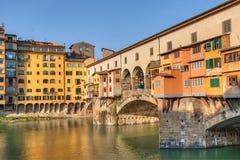Ponte Vecchio,佛罗伦萨,意大利 免版税图库摄影