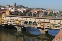 Ponte Vecchio,佛罗伦萨 免版税图库摄影