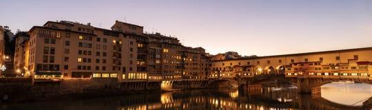 Ponte Vecchio και ποταμός Arno - Φλωρεντία Ιταλία στοκ φωτογραφίες με δικαίωμα ελεύθερης χρήσης