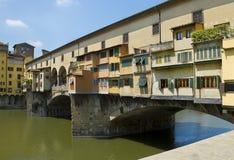 Ponte Vecchio στη Φλωρεντία, Ιταλία Στοκ Εικόνα