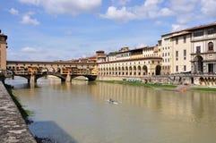 Ponte Vecchio στη Φλωρεντία Στοκ εικόνα με δικαίωμα ελεύθερης χρήσης