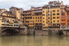 Ponte Vecchio στη Φλωρεντία Στοκ Εικόνες