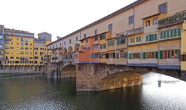 Ponte Vecchio Φλωρεντία στοκ εικόνα με δικαίωμα ελεύθερης χρήσης