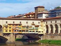 Ponte Vecchio, Φλωρεντία Στοκ φωτογραφίες με δικαίωμα ελεύθερης χρήσης