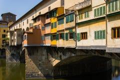 Ponte Vecchio - Φλωρεντία - Ιταλία Στοκ εικόνα με δικαίωμα ελεύθερης χρήσης