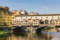 Ponte Vecchio - Φλωρεντία - Ιταλία Στοκ φωτογραφίες με δικαίωμα ελεύθερης χρήσης