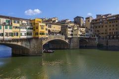 Ponte Vecchio - Φλωρεντία - Ιταλία Στοκ φωτογραφία με δικαίωμα ελεύθερης χρήσης