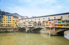 Ponte Vecchio (мост Vecchio) Стоковая Фотография