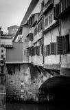 Ponte Vecchio (мост Vecchio) Стоковое фото RF