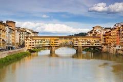 Ponte Vecchio 佛罗伦萨 意大利 免版税库存图片