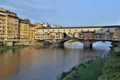 Ponte Vecchio -佛罗伦萨-意大利 库存照片