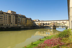 Ponte Vecchio -佛罗伦萨 库存照片