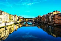 Ponte Vecchio 佛罗伦萨 免版税库存图片