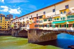 Ponte Vecchio Fotografia Stock