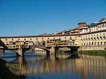 Ponte Vecchio Стоковое Фото