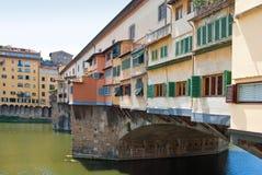 Ponte Vecchio Stock Afbeeldingen