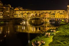Ponte Vecchio photographie stock
