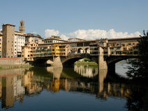 Ponte Vecchio. Bridge in Florence, Italy Royalty Free Stock Photos