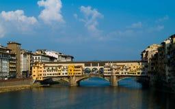 Ponte Vecchio. Bridge Ponte Vecchio in Florence Stock Image