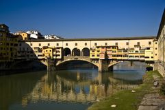 The Ponte Vecchio Royalty Free Stock Photo