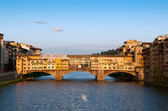 The Ponte Vecchio Stock Photography