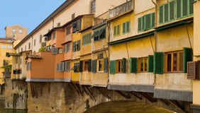 Ponte Vecchio. Bridge Ponte Vecchio in Florence Royalty Free Stock Images
