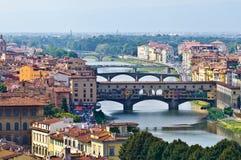 Ponte Vecchio Zdjęcia Royalty Free
