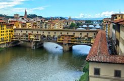 Ponte Vecchio Imagens de Stock Royalty Free